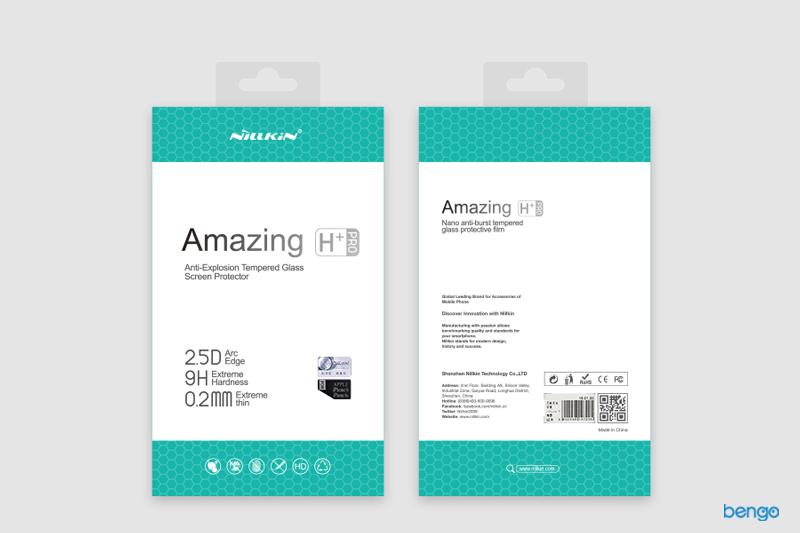 Kính cường lực Samsung Galaxy J7+ NILLKIN Amazing H+ Pro