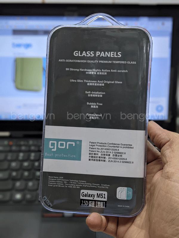 Dán màn hình Galaxy M51 Full GOR