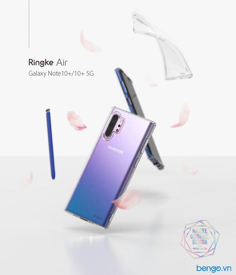 Ốp lưng Samsung Galaxy Note 10 Plus RINGKE Air
