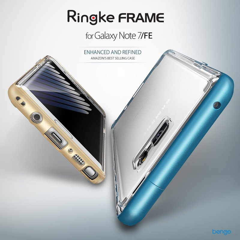 Ốp lưng Samsung Galaxy Note FE Ringke Frame