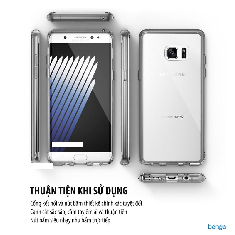 Ốp lưng Samsung Galaxy Note FE Ringke Fusion