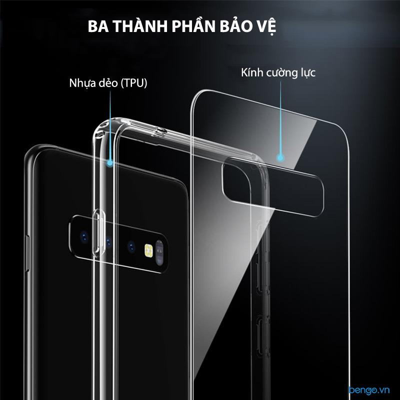 Ốp lưng Samsung Galaxy S10 Plus ESR Mimic Tempered Glass