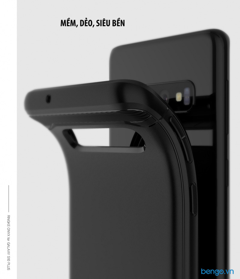 Ốp lưng Samsung Galaxy S10 RINGKE Onyx