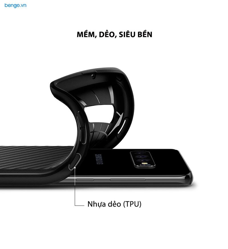 Ốp lưng Samsung Galaxy S10 Plus SPIGEN Core Armor