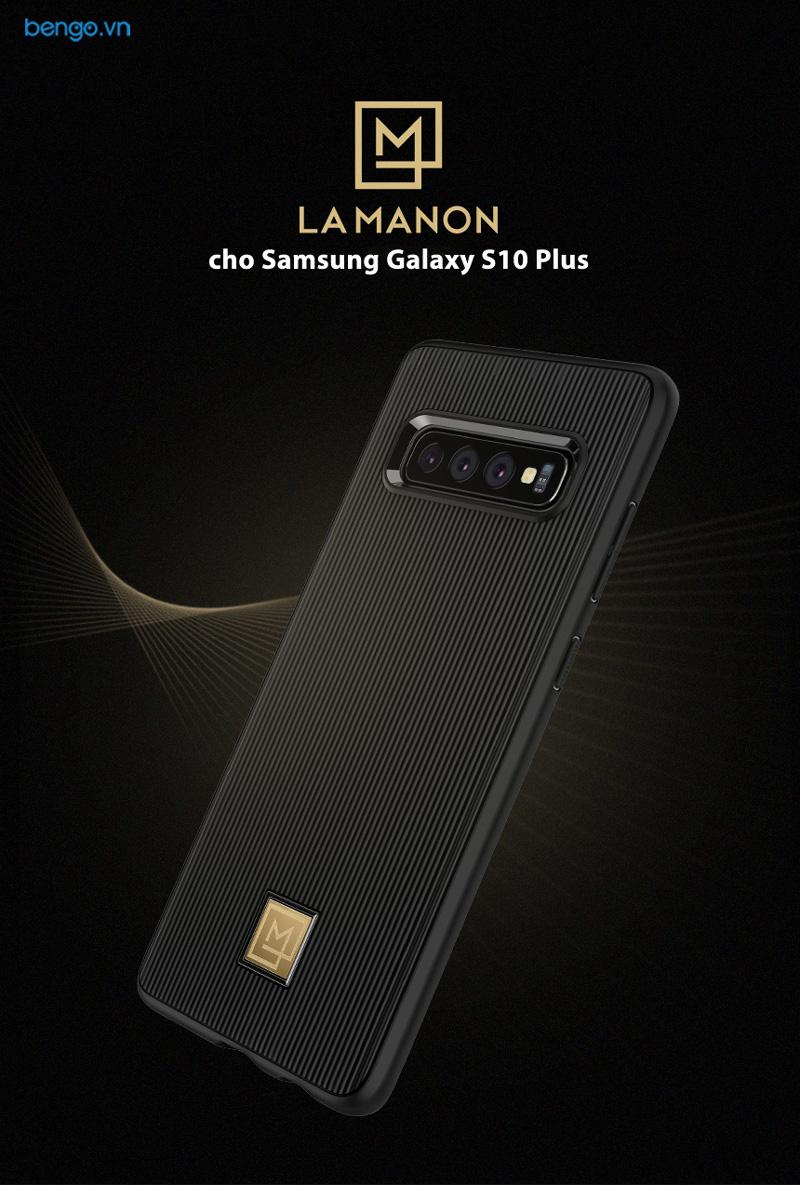 Ốp lưng Samsung Galaxy S10 Plus SPIGEN La Manon Classy