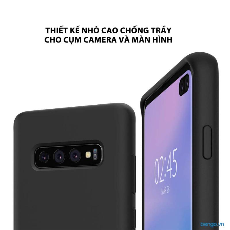 Ốp lưng Samsung Galaxy S10 Plus SPIGEN Silicone Fit