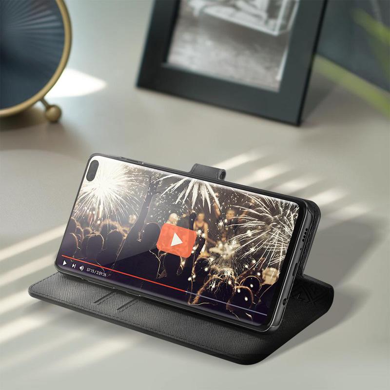 Bao da Samsung Galaxy S10 Plus Spigen La Manon Wallet