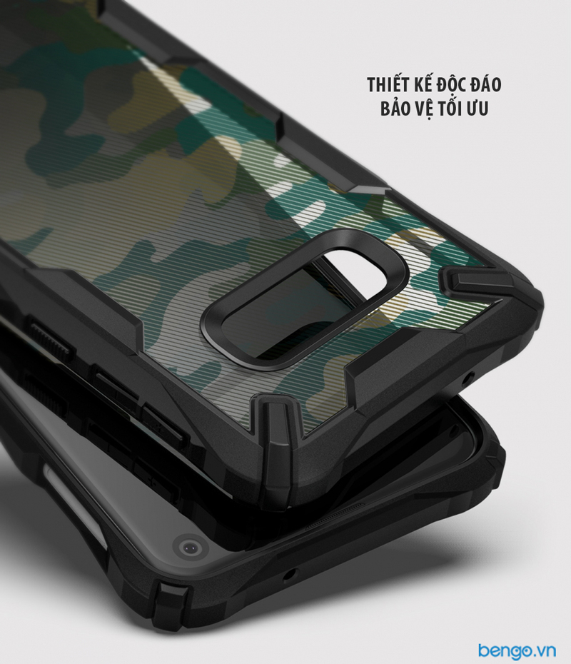 Ốp lưng Samsung Galaxy S10e RINGKE Fusion X Design