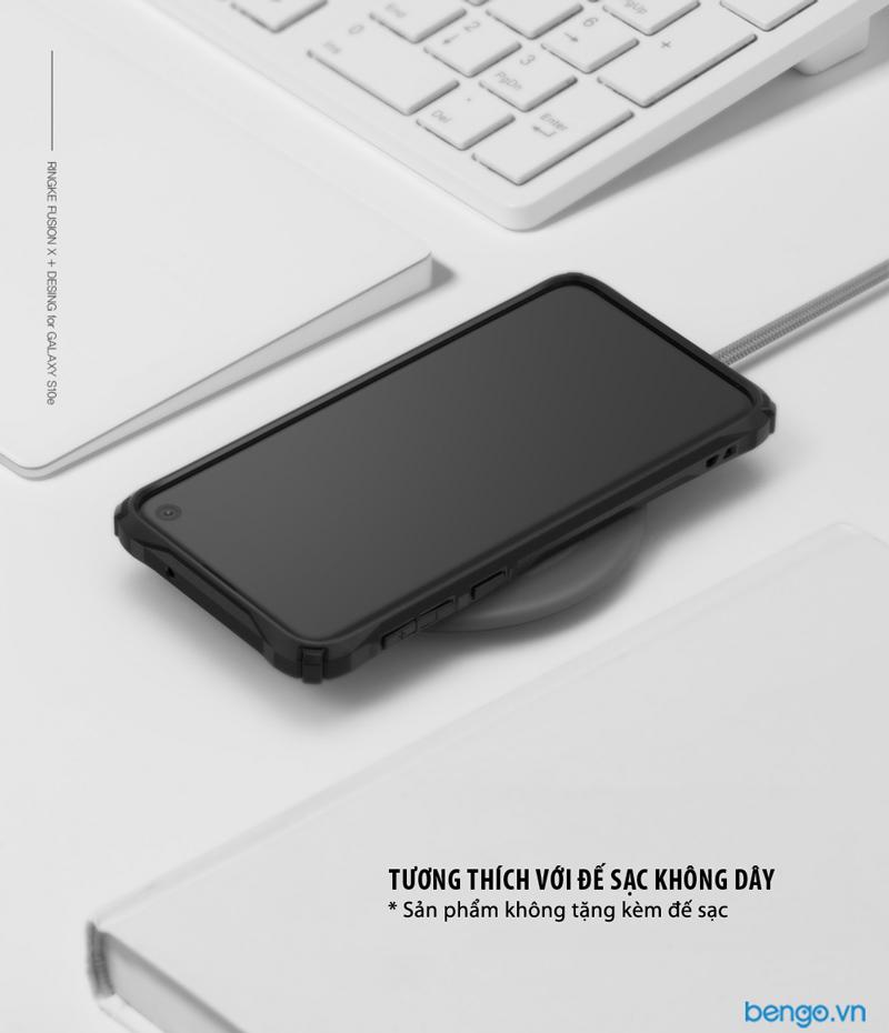 Ốp lưng Samsung Galaxy S10 RINGKE Fusion X Design