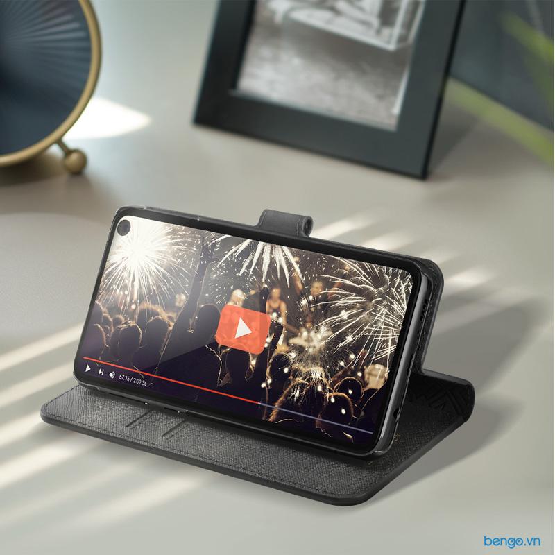 Bao da Samsung Galaxy S10e Spigen La Manon Wallet