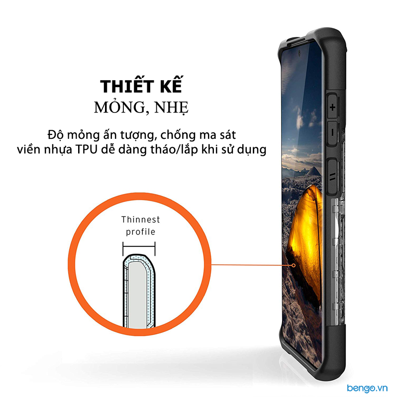 Ốp lưng Samsung Galaxy S20 Plus UAG Plasma