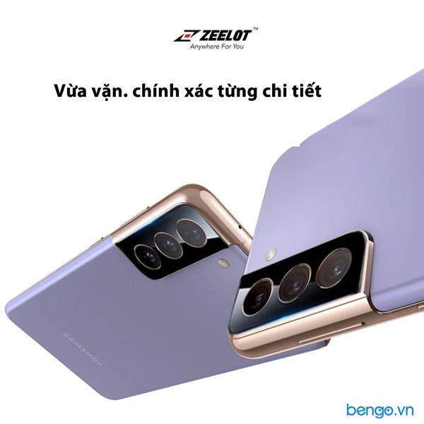 Dán cường lực bảo vệ Camera Samsung Galaxy S21 Ultra/S21 Plus/S21 5G ZEELOT Black