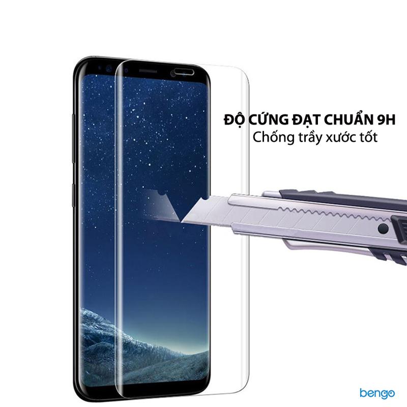 Dán cường lực Samsung Galaxy S9 Plus Full keo UV