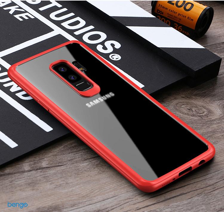 Ốp lưng Samsung Galaxy S9 Plus IPAKY trong suốt viền nhựa dẻo