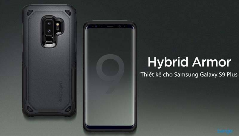 info for 3e0de 003b4 SPIGEN Hybrid Armor Samsung Galaxy S9 Plus Case - Gunmetal
