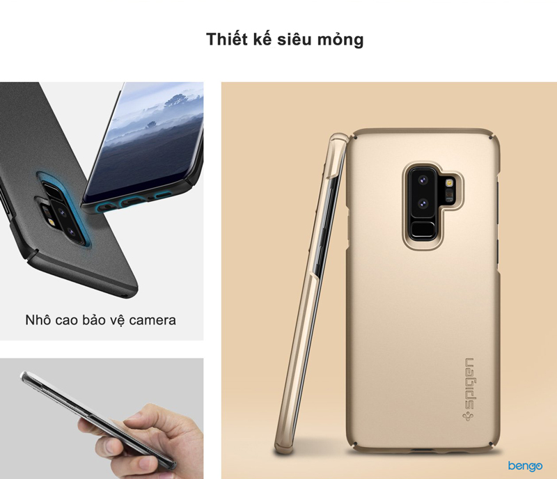 Ốp lưng Samsung Galaxy S9 Plus SPIGEN Thin Fit