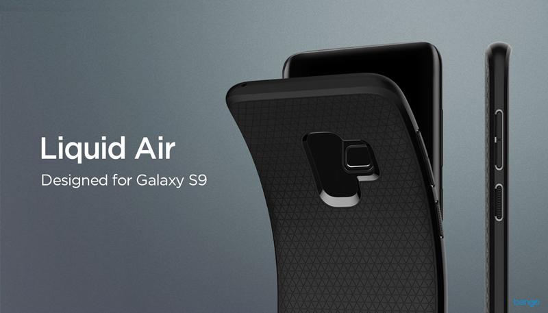 new styles a4da6 344da SPIGEN Liquid Air Samsung Galaxy S9 Case - Matte Black