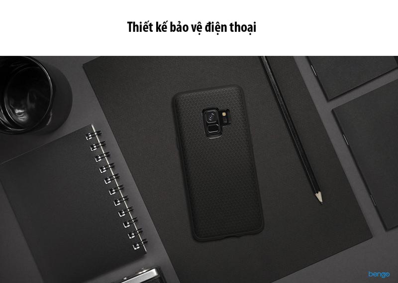Ốp lưng Samsung Galaxy S9 SPIGEN Liquid Air - Matte Black