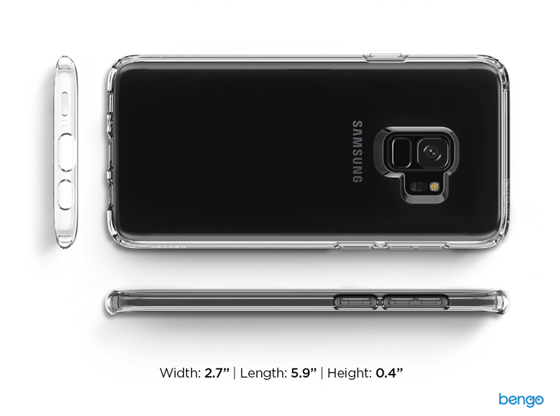 Ốp lưng Samsung Galaxy S9 SPIGEN Liquid Crystal