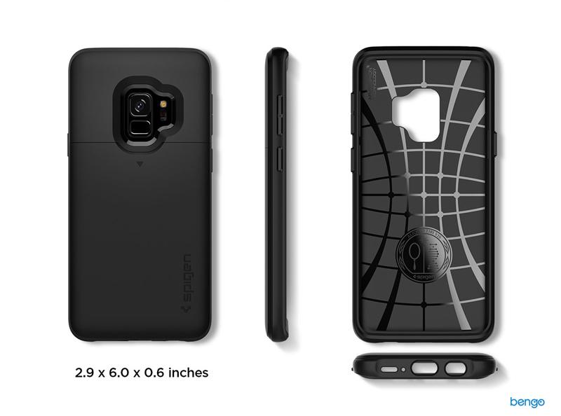 Ốp lưng Samsung Galaxy S9 SPIGEN Slim Armor CS