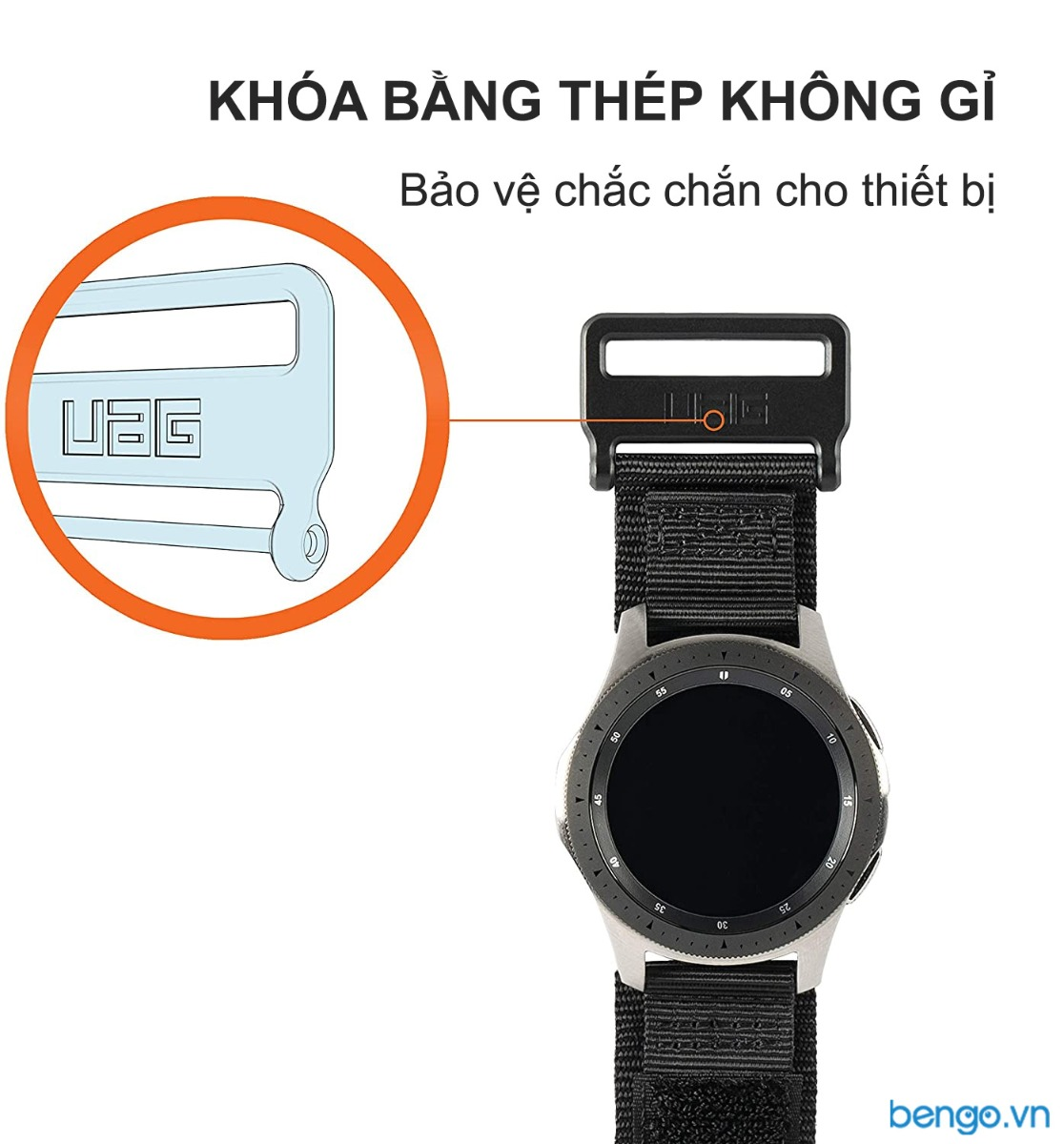 Dây đeo Samsung Galaxy Watch 42mm UAG Active Series