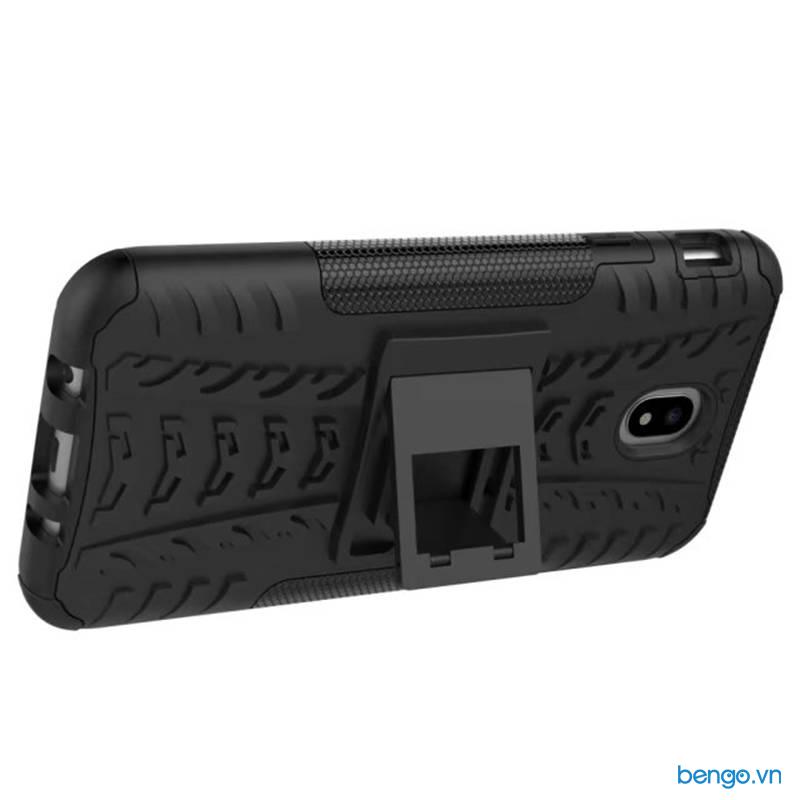 Ốp lưng Samsung Galaxy J7 Pro chống sốc dựng máy