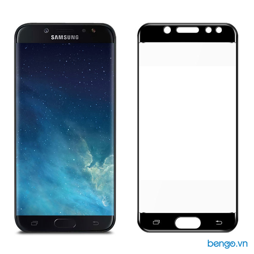Kính cường lực Samsung Galaxy J7 Pro 4D Full màn hình