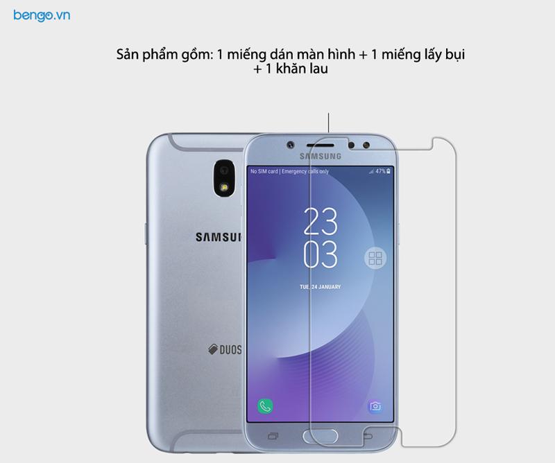 Dán màn hình Samsung Galaxy J7 Pro NILLKIN Crystal