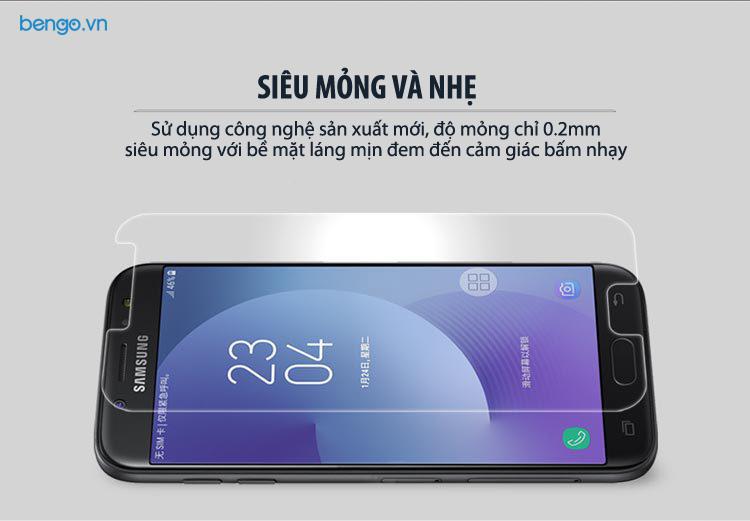 Kính cường lực Samsung Galaxy J7 Pro Nillkin Amazing H + PRO