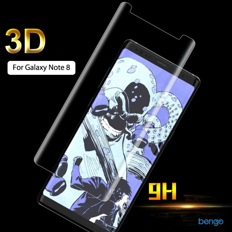 Dán màn hình cường lực Samsung Galaxy Note 8 3D full màn hình small