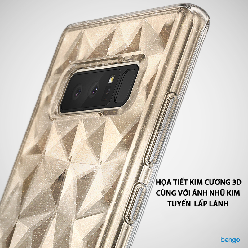 Ốp lưng Samsung Galaxy Note 8 Ringke Air Prism Glitter