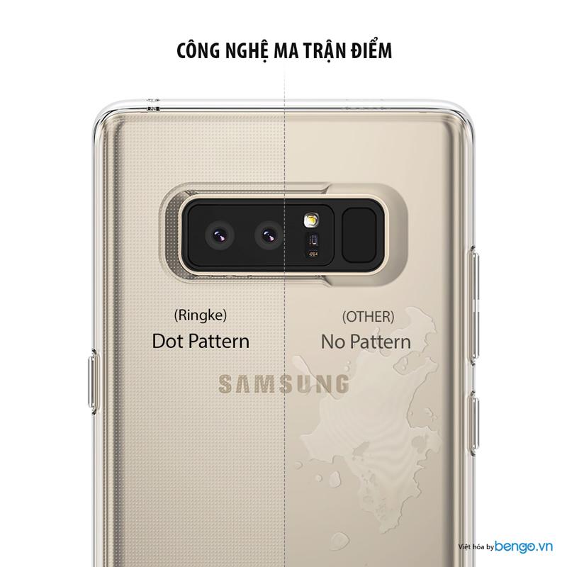 Ốp lưng Samsung Galaxy Note 8 Ringke Air