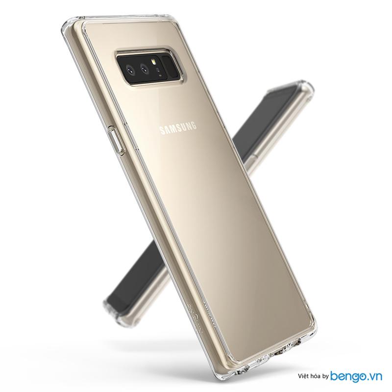 Ốp lưng Samsung Galaxy Note 8 Ringke Fusion
