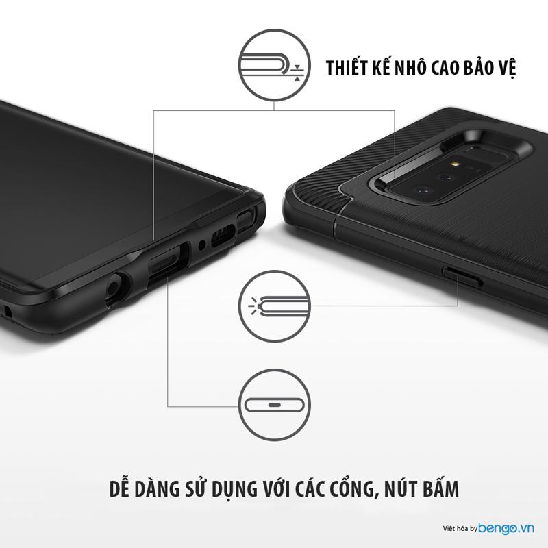 Ốp lưng Samsung Galaxy Note 8 Ringke ONYX