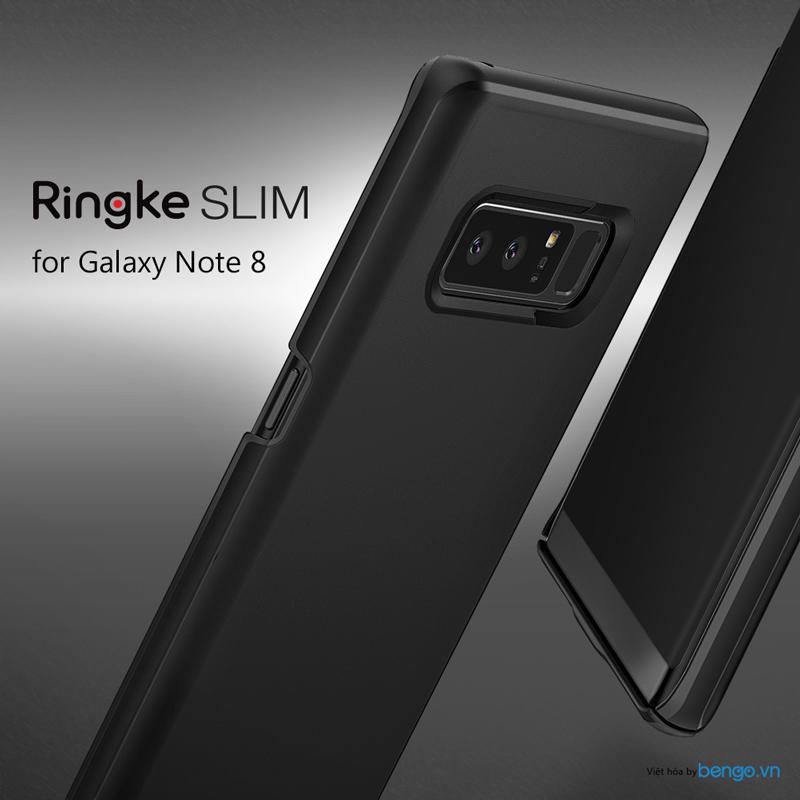 Ốp lưng Samsung Galaxy Note 8 Ringke Slim