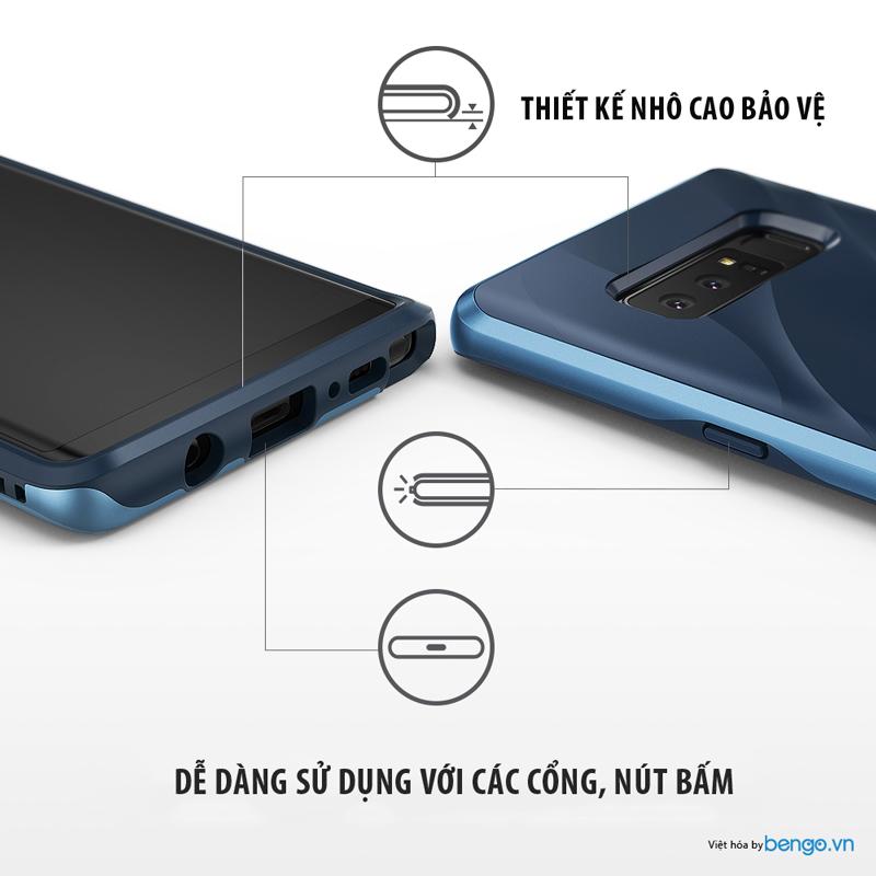 Ốp lưng Samsung Galaxy Note 8 Ringke Wave