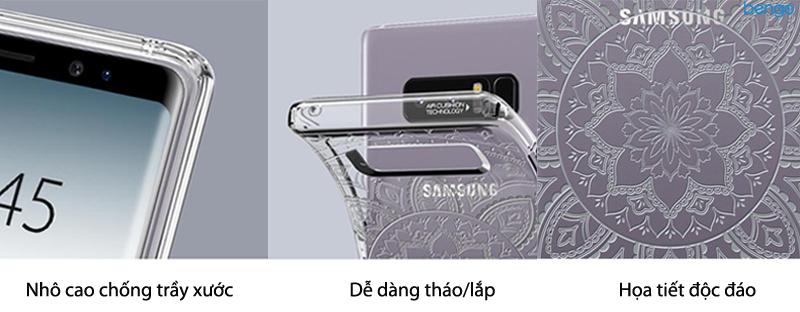 Ốp lưng Samsung Galaxy Note 8 SPIGEN Liquid Crystal Shine