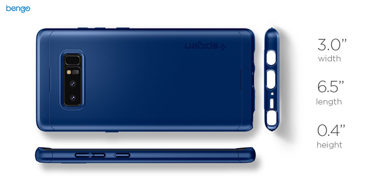 Ốp lưng Samsung Galaxy Note 8 SPIGEN Thin Fit 360