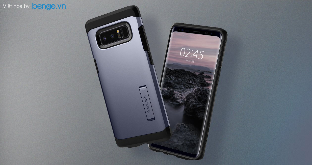 op lung samsung note 8 spigen tourch armor