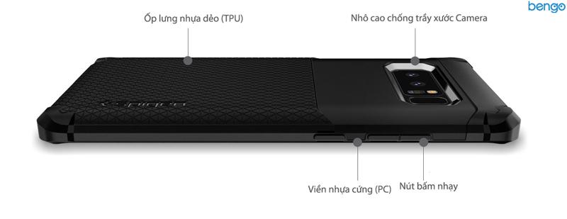 Ốp lưng Samsung Galaxy Note 8 SPIGEN Hybrid Armor