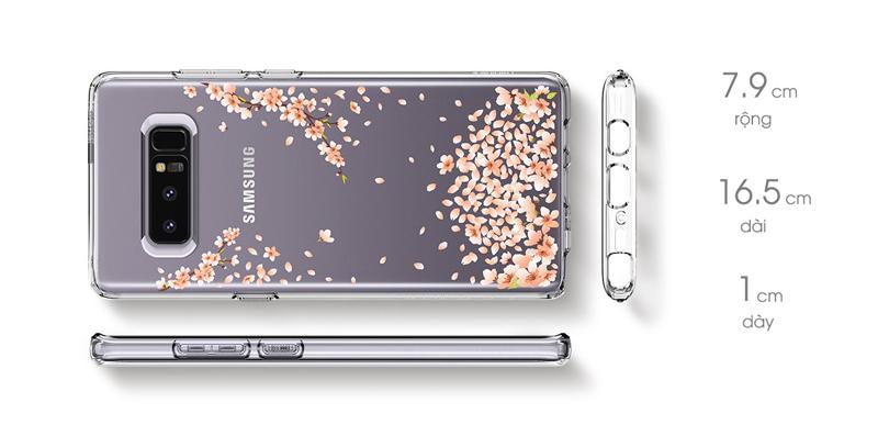 Samsung Galaxy Note 8 Spigen Liquid Crystal Blossom