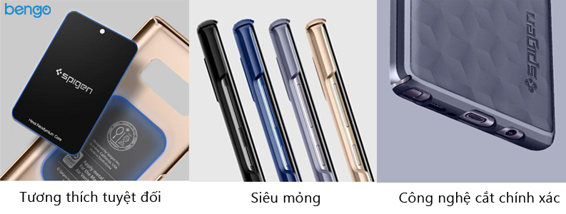 ốp lưng samsung galaxy note 8 spigen thin fit
