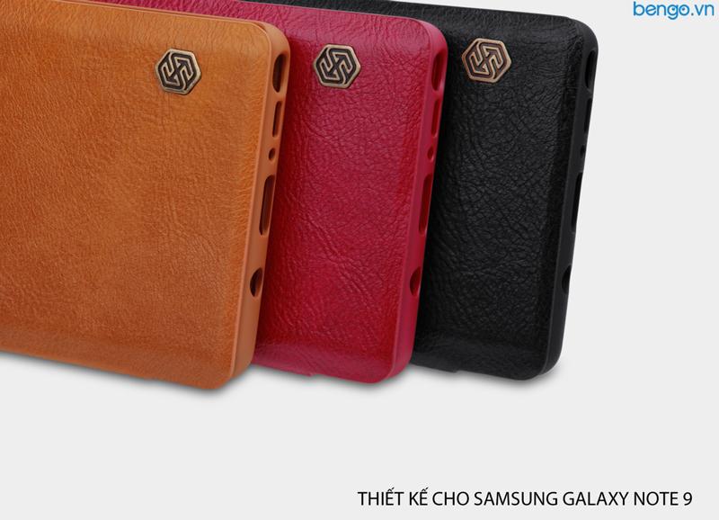 Bao da Samsung Galaxy Note 9 Nillkin QIN
