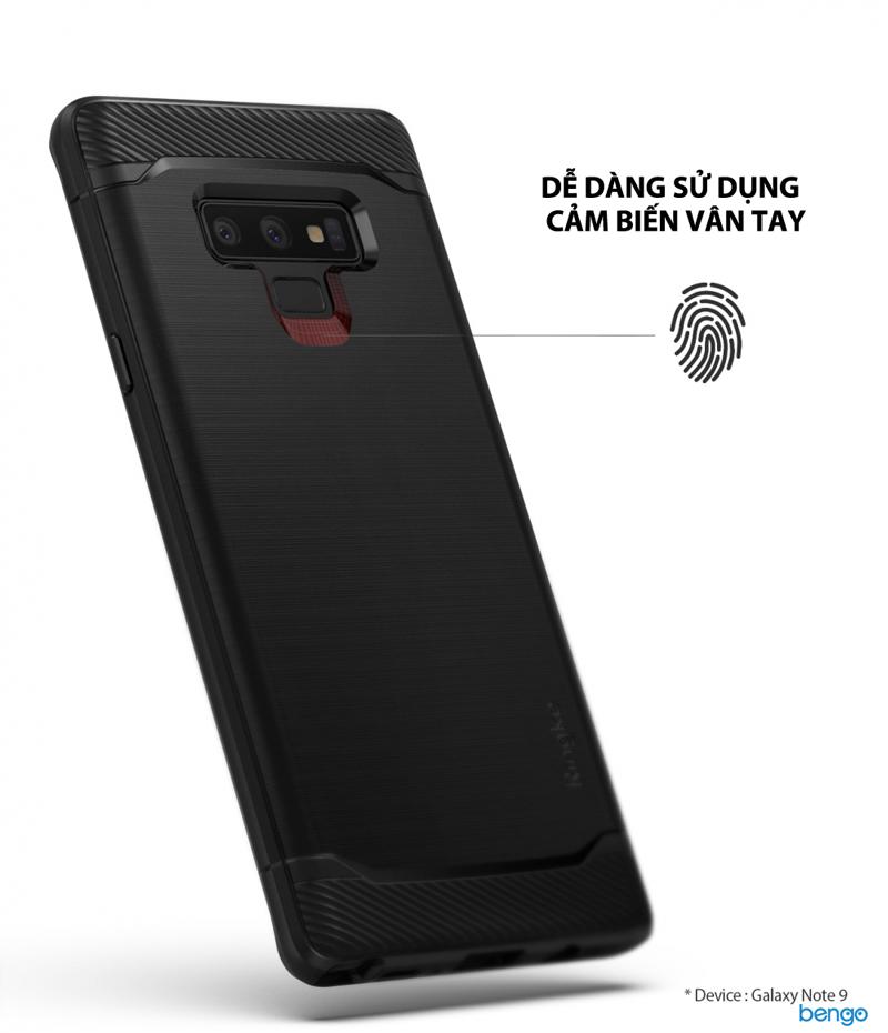 Ốp lưng Samsung Galaxy Note 9 Ringke Onyx