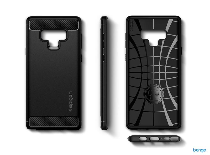 newest 692a4 4ce56 Samsung Galaxy Note 9 case SPIGEN Rugged Armor
