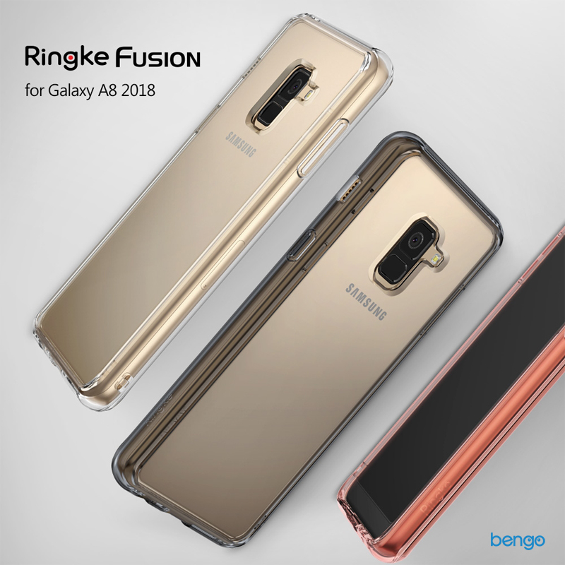Ốp lưng Samsung Galaxy A8 RINGKE Fusion