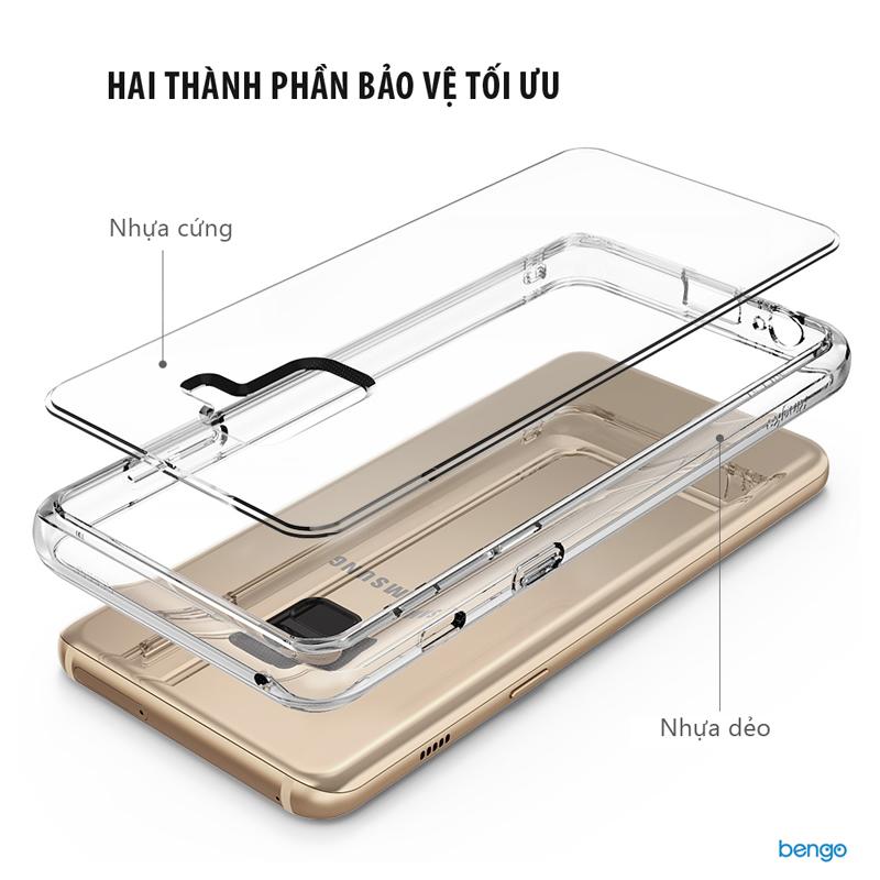 Ốp lưng Samsung Galaxy A8 (2018) RINGKE Fusion