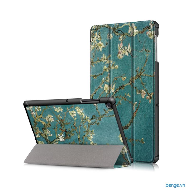 Bao da Samsung Galaxy Tab S5e 10.5 T720/T725 Họa tiết hoa văn