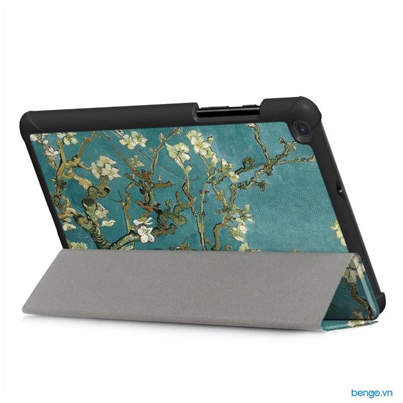 Bao da Samsung Galaxy Tab A 8.0 2019 - SM-T290/T295 họa tiết hoa văn