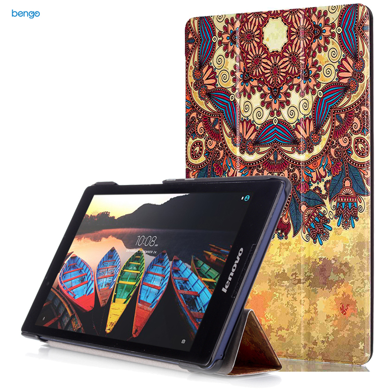 Bao da Samsung Galaxy Tab A 8.0 (2017) T380-T385 họa tiết hoa văn